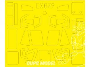 Eduard Express Mask EX679 W-3A Sokol Answer 1/48