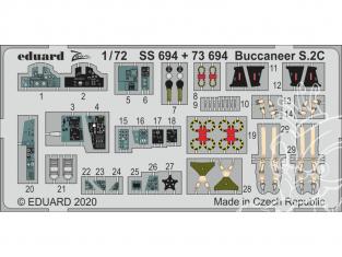 Eduard photodecoupe avion SS694 Zoom Amélioration Buccaneer S.2C Airfix 1/72