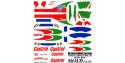 Decalques Colorado 24xx Toyota Corolla WRC 98 1/24