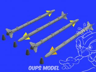 Eduard kit d'amelioration brassin 672226 AIM-9X 1/72