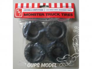 AMT maquette voiture PP026 Pneus Monter Truck 1/25