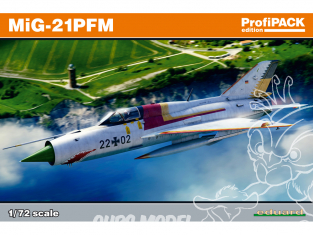 EDUARD maquette avion 70144 MiG-21PFM ProfiPack Edition 1/72