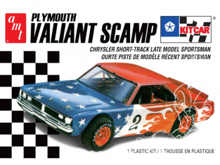AMT maquette camion 1171 Plymouth Valiant Scamp Kit Car 1/25