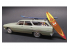 "AMT maquette camion 1131 1965 Chevy Chevelle ""Surf Wagon"" (4 'n 1) 1/25"