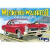 """MPC maquette voiture 918 1967 Pontiac GTO """"Weekend Warrior"""" Version Race avec Feu de Démarrage """"Christmas Tree"""" 1/25"""