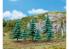 Faller végétation 181604 3 Petits et 3 grands sapins