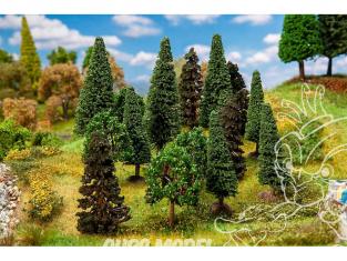 Faller végétation 181529 15 Arbres de forêt mixte, assortis