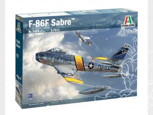 Italeri maquette avion 1426 F-86F Sabre 1/72