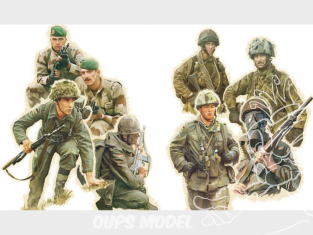 Italeri maquette miltaire 6190 TROUPES NATO 1980 1/72