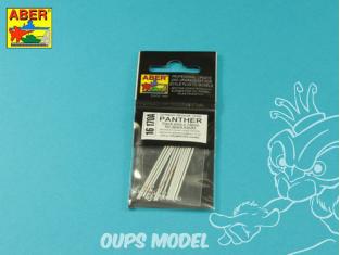 Aber 16170A Broches de liaison de chenilles de rechange Panther x 12 pcs pour kit Trumpeter 1/16