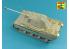 Aber 35K02T Kit amelioration pour Pz.Kpfw. V Panther Ausf.D A ( i.Kfz.171) Panther (Takom) 1/35