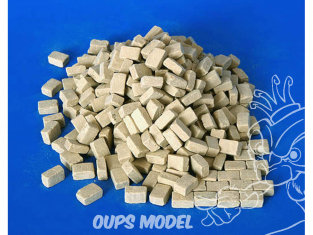 Plus Model 4003 Gros Pavé en resine imitation grès 1/48