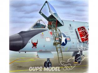 Plus Model AL4084 Echelle pour un Convair F-106 Delta Dart 1/48