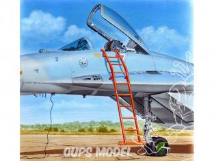 Plus Model AL4087 Echelle pour un Mikoyan-Gourevitch MiG-29 1/48