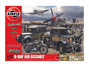 Airfix maquette avion A50157A 75th Anniversay D-Day Air Assault Set 1/72