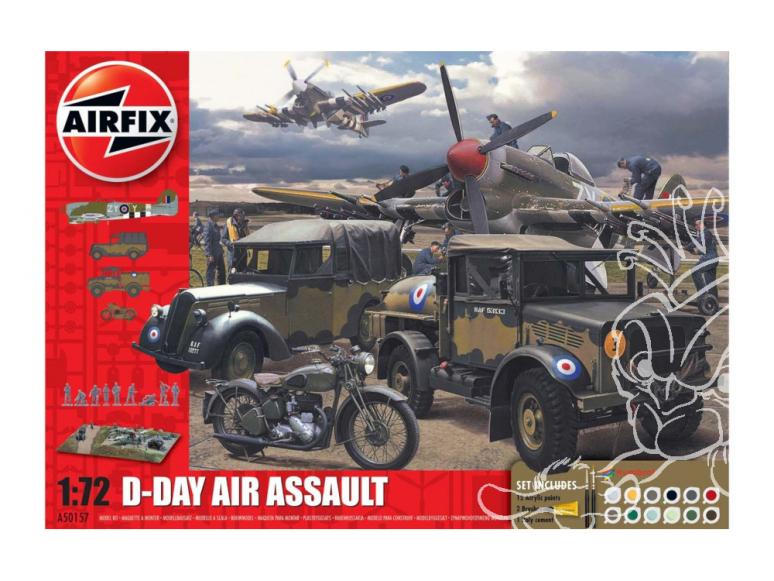 Airfix maquette avion A50157A 75th Anniversay D-Day Air Assault Set 1/72
