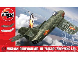 Airfix maquette avion A03091 Mikoyan-Gurevich MiG-17F Fresco 1/72