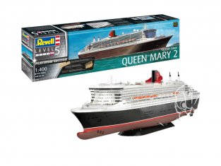 Revell maquette bateau 05199 Queen Mary 2 Platinum Edition 1/400