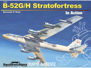 Librairie Squadron 10207 B-52G/H Stratofortress in Action (SC)