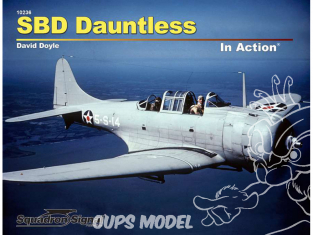 Librairie Squadron 10236 SBD Dauntless In Action (SC)