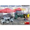 Mini Art maquette militaire 35610 Terrasse de café moderne 1/35