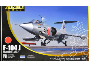 Kinetic maquette avion K48080 F-104J Starfighter J.A.S.D.F 1/48