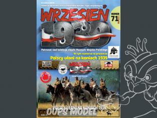 First to Fight maquette militaire pl071 Uhlans polonais sur les chevaux 1939 1/72