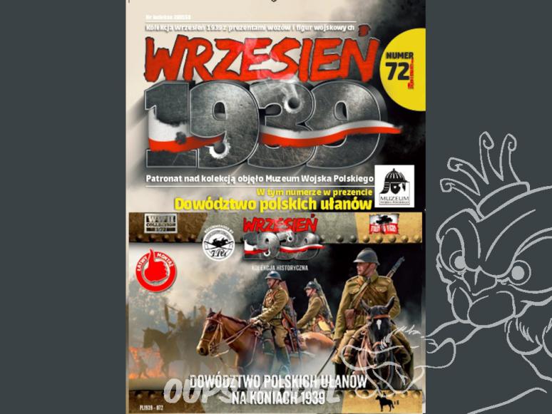 First to Fight maquette militaire pl072 Commandant Uhlans polonais sur les chevaux 1939 1/72
