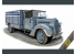 Ace Maquettes Militaire 72575 Ford G917T 3t German Cargo truck (soft cab) 1/72