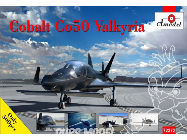 Amodel maquettes avion 72372 Cobalt Co50 Valkyrie 1/72