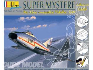 Heller maquette avion 49040 kit complet Super Mystere 1/100