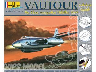Heller maquette avion 49030 kit complet Vautour 1/100