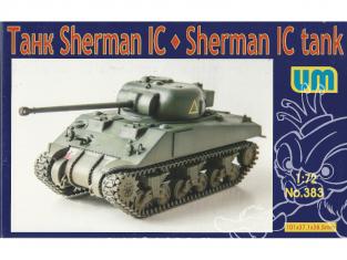 UM Unimodels maquettes militaire 383 M4 Sherman IC 1/72