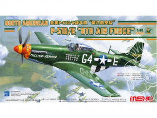 Meng maquettes avions Ls-010 Mustang P-51D/K 1/48