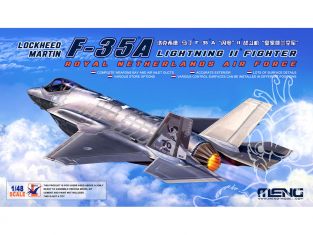 Meng maquettes avions Ls-011 Lockheed Martin F-35 A Lightning II 1/48