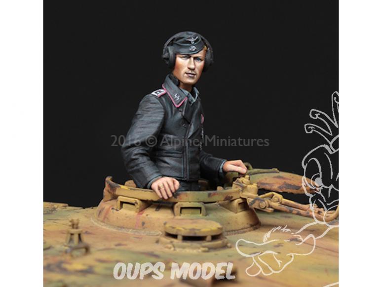 Alpine figurine 35223 WSS Commandant de Tigre 1/35