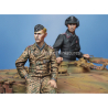 Alpine figurine 35225 Set ensemble Equipage de Tigre allemand (2 figurines) 1/35