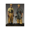 Alpine figurine 35222 Set ensemble 1st FJ Division Set (2 figurines) 1/35