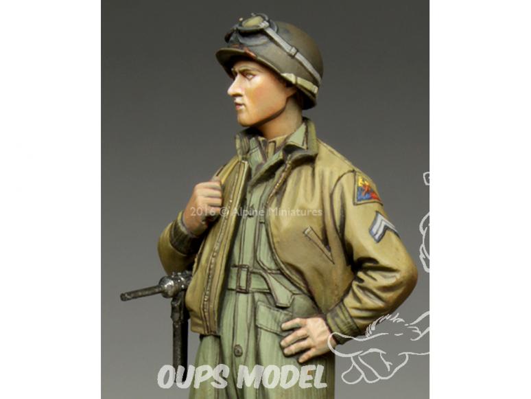 Alpine figurine 35217 Caporal américain de la 3e Division blindée 1/35