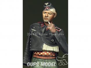 Alpine figurine 35182 Equipage blessé de Panzer allemand n°2 1/35