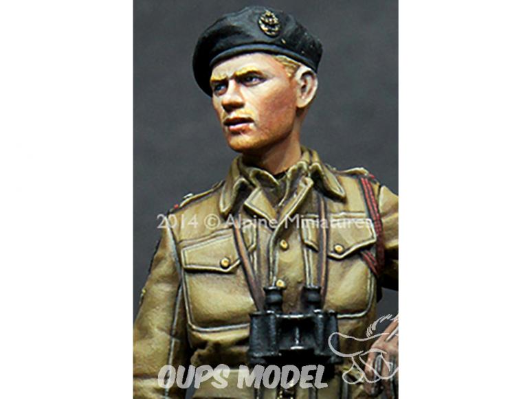 Alpine figurine 35178 Équipage britannique RAC AFV n°1 1/35