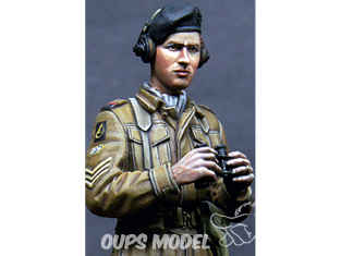 Alpine figurine 35179 Équipage britannique RAC AFV n°2 1/35