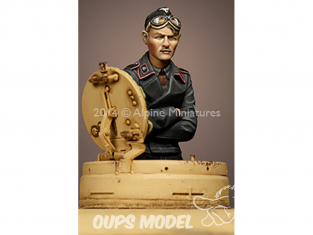 Alpine figurine 35176 Commandant de Panzer Commander n°2 1/35