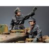 Alpine figurine 35174 Set ensemble SS Commandant de Panzer n°1 et n°2 (2 figurines) 1/35