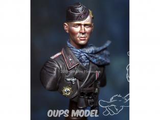 """Alpine figurine B001 Buste d'Officier 116 Pz Div """"Windhund"""" 1/16"""