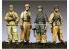 Alpine figurine S0006 Set ensemble Ensemble de division I Fallschirmjäger (4 figurines) 1/35