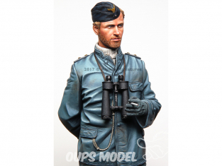 Alpine figurine 16036 Officier de quart allemand sous-marin 1/16