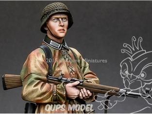 """Alpine figurine 16030 Panzer Grenadier """"Feldherrnhalle"""" 1/16"""