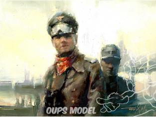 Alpine figurine 16024 Erwin Rommel 1/16