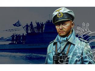 Alpine figurine 16021 Capitaine de sous-marin allemand 1/16